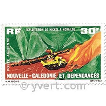 n° 74 -  Selo Nova Caledónia Correio aéreo