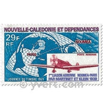 n° 102 -  Timbre Nelle-Calédonie Poste aérienne