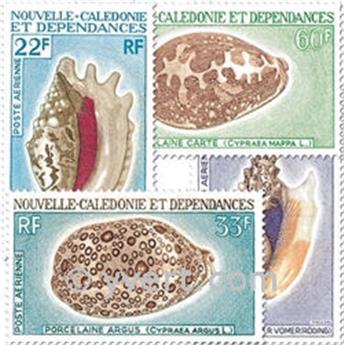 n° 113/116 -  Timbre Nelle-Calédonie Poste aérienne