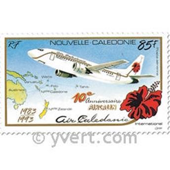 n° 305 -  Selo Nova Caledónia Correio aéreo