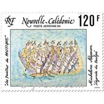 n° 313 -  Selo Nova Caledónia Correio aéreo