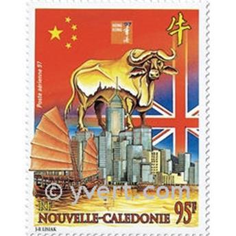 n° 342 -  Selo Nova Caledónia Correio aéreo