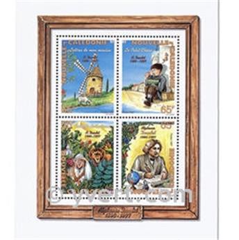 n.o 19 -  Sello Nueva Caledonia Bloque y hojitas