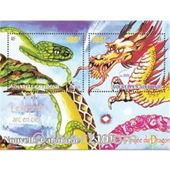 nr. 23 -  Stamp New Caledonia Souvenir sheets