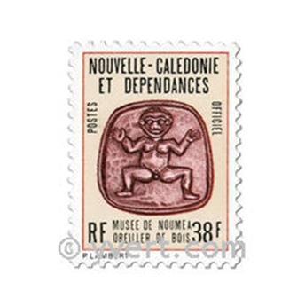 n° 37 -  Selo Nova Caledónia Oficiais