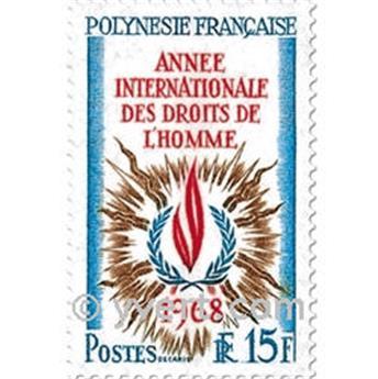 n° 62/63 -  Timbre Polynésie Poste