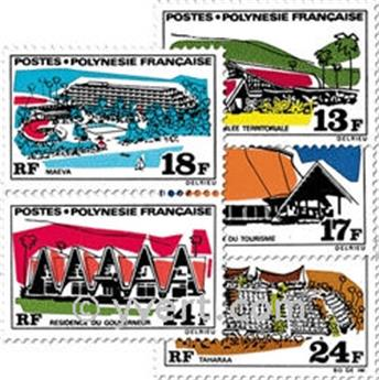 n.o 72 / 76 -  Sello Polinesia Correos