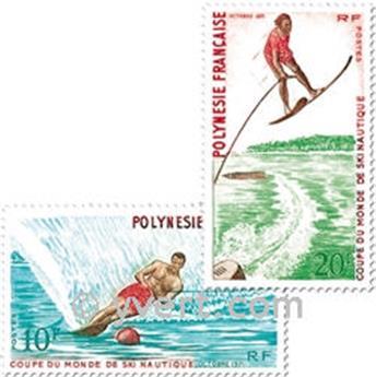 n° 86/88 -  Timbre Polynésie Poste