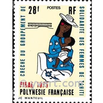 n° 93 -  Timbre Polynésie Poste