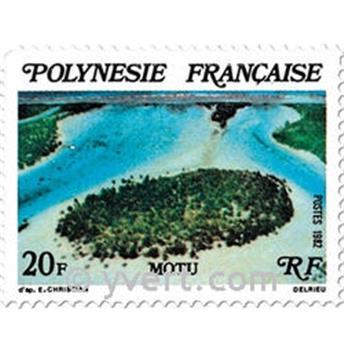 n° 186/188 -  Timbre Polynésie Poste