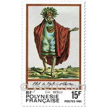 n° 202/204 -  Timbre Polynésie Poste
