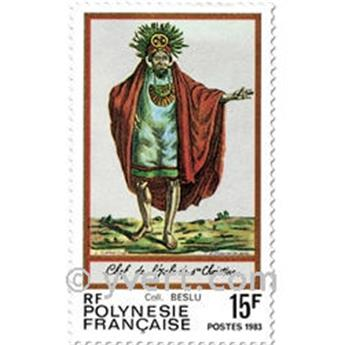 nr. 202/204 -  Stamp Polynesia Mail