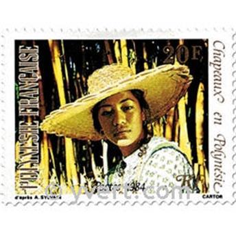 n° 212/215 -  Timbre Polynésie Poste