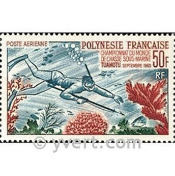n° 14 -  Timbre Polynésie Poste aérienne