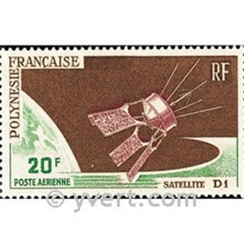 n° 19 -  Selo Polinésia Correio aéreo