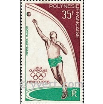 n° 26 -  Selo Polinésia Correio aéreo