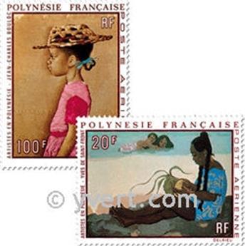 n° 40/44 -  Timbre Polynésie Poste aérienne