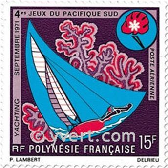 n° 51/54 -  Timbre Polynésie Poste aérienne