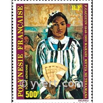 n° 154 -  Timbre Polynésie Poste aérienne