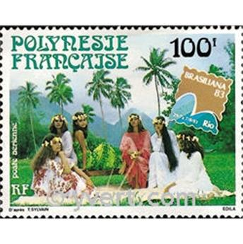 n° 176 -  Timbre Polynésie Poste aérienne