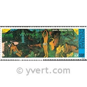 n° 186 -  Timbre Polynésie Poste aérienne