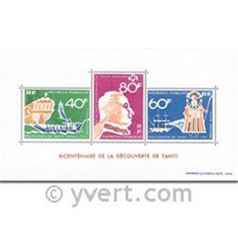 nr. 1 -  Stamp Polynesia Souvenir sheets