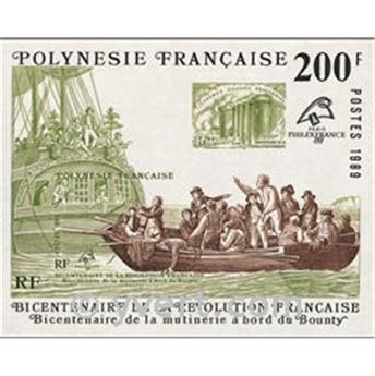 nr. 15 -  Stamp Polynesia Souvenir sheets