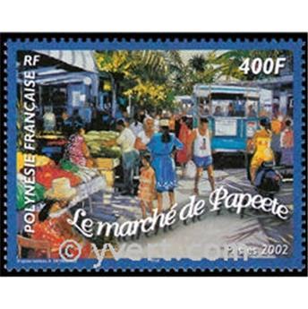 n° 28 -  Selo Polinésia Blocos e folhinhas