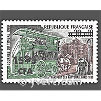 n° 383 -  Timbre Réunion Poste