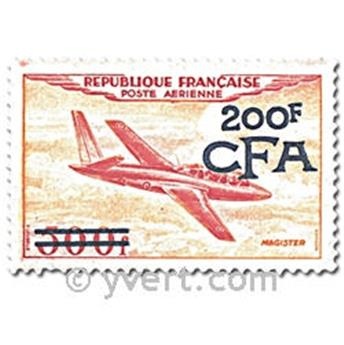 nr. 52/55 -  Stamp Reunion Air mail