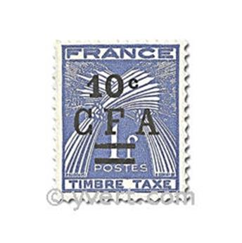 nr. 36/44 -  Stamp Reunion Revenue stamp