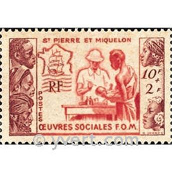 n° 344 -  Timbre Saint-Pierre et Miquelon Poste