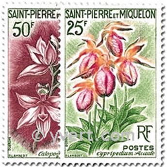 n.o 362/363 -  Sello San Pedro y Miquelón Correos
