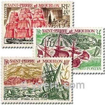 nr. 395/397 -  Stamp Saint-Pierre et Miquelon Mail