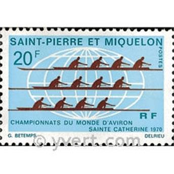 n.o 405 -  Sello San Pedro y Miquelón Correos