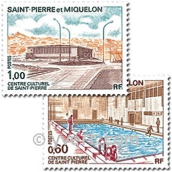 n.o 431/432 -  Sello San Pedro y Miquelón Correos