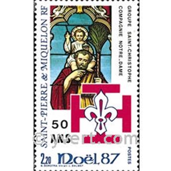 n.o 483 -  Sello San Pedro y Miquelón Correos