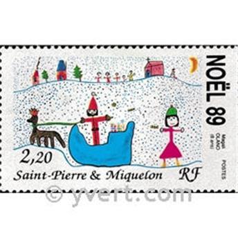 n.o 512 -  Sello San Pedro y Miquelón Correos