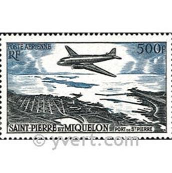n° 23 -  Selo São Pedro e Miquelão Correio aéreo