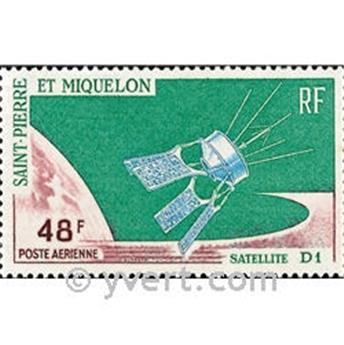 n.o 35 -  Sello San Pedro y Miquelón Correo aéreo