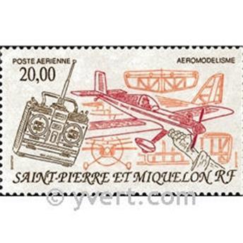 n.o 71 -  Sello San Pedro y Miquelón Correo aéreo