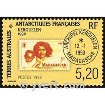 n.o 3 -  Sello Tierras Australes y Antárticas Francesas Bloque y hojitas