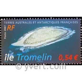 n.o 18 -  Sello Tierras Australes y Antárticas Francesas Bloque y hojitas