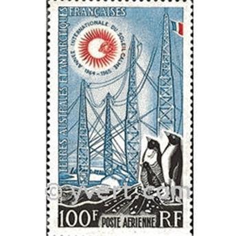 n.o 7 -  Sello Tierras Australes y Antárticas Francesas Correo aéreo