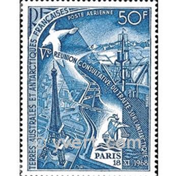 n° 18 -  Selo TAAF Correio aéreo