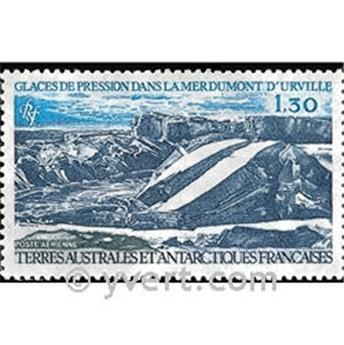 n.o 66 -  Sello Tierras Australes y Antárticas Francesas Correo aéreo