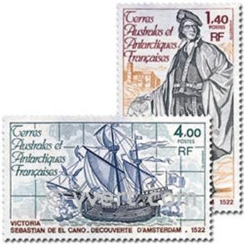 n° 84/85 -  Selo TAAF Correios