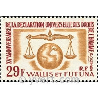n.o 169 -  Sello Wallis y Futuna Correos