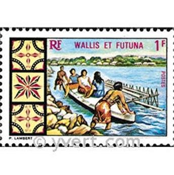 n.o 174 -  Sello Wallis y Futuna Correos