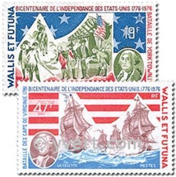 n° 190/191  -  Selo Wallis e Futuna Correios